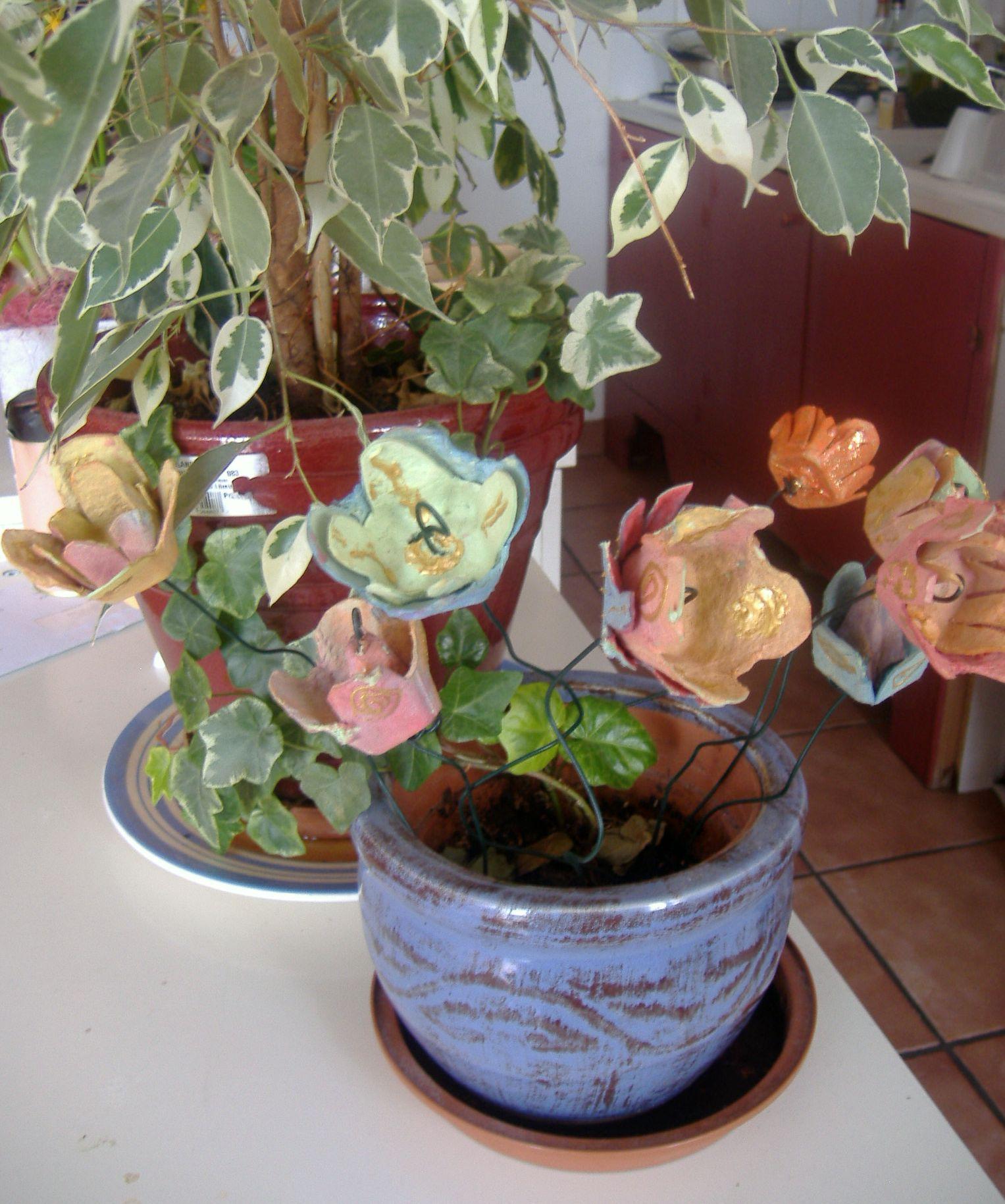 Fleurs en carton - Fleur en carton ...